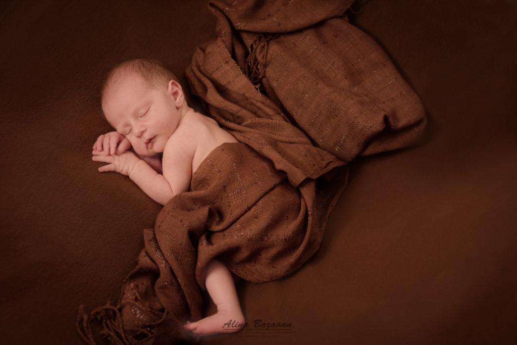 David (12 zile) – Sesiune foto nou-nascut